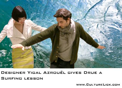 Drue Kataoka and Yigal Azrouel, Fashion Designer